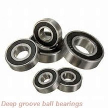 35 mm x 72 mm x 42,9 mm  ZEN SUC207 deep groove ball bearings