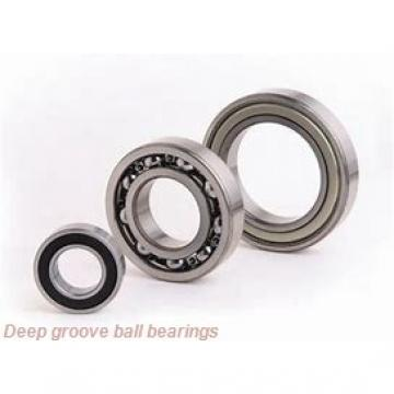 6 mm x 16 mm x 5 mm  NSK B6-63ZZ deep groove ball bearings