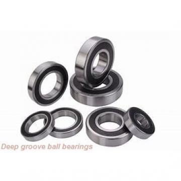 12 mm x 37 mm x 12 mm  Fersa 6301 deep groove ball bearings