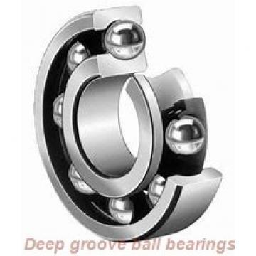 10 mm x 26 mm x 8 mm  ISB 6000-ZZ deep groove ball bearings