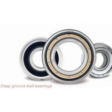 5 mm x 16 mm x 5 mm  KOYO F625ZZ deep groove ball bearings