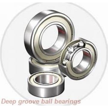 12 mm x 28 mm x 8 mm  NACHI 6001-2NKE deep groove ball bearings