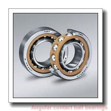 80 mm x 125 mm x 20,25 mm  NSK 80BAR10S angular contact ball bearings