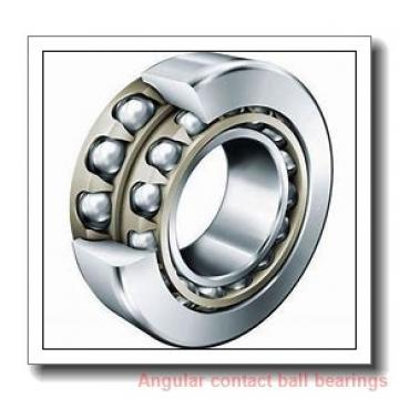 80 mm x 125 mm x 22 mm  FAG HS7016-C-T-P4S angular contact ball bearings