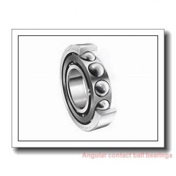 80 mm x 125 mm x 22 mm  SKF 7016 CE/P4AL angular contact ball bearings