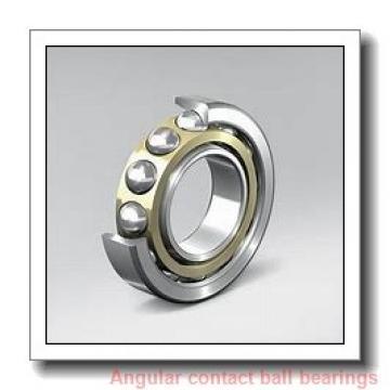 240 mm x 440 mm x 72 mm  KOYO 7248B angular contact ball bearings
