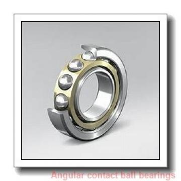 35 mm x 80 mm x 21 mm  SKF 7307 BECBY angular contact ball bearings