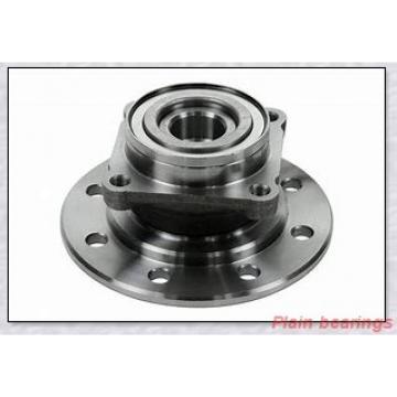 10 mm x 21 mm x 10 mm  NMB MBG10CR plain bearings