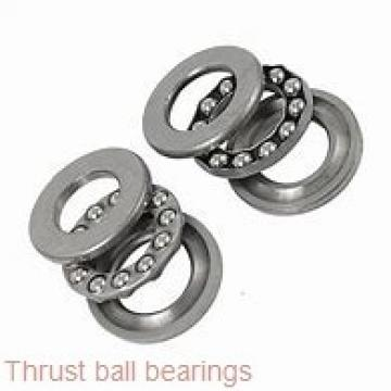 90 mm x 190 mm x 43 mm  SKF NJ 318 ECJ thrust ball bearings