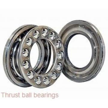 90 mm x 190 mm x 43 mm  SKF NJ 318 ECP thrust ball bearings