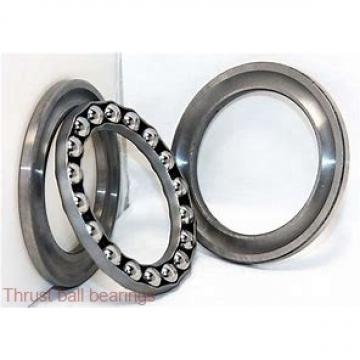 220 mm x 400 mm x 65 mm  SKF NUP 244 ECM thrust ball bearings