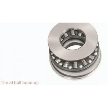Toyana 54410U+U410 thrust ball bearings