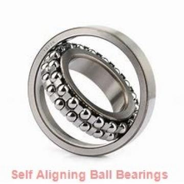 20 mm x 50 mm x 20 mm  NMB PBR20FN self aligning ball bearings