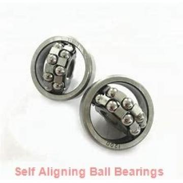 15,875 mm x 39,6875 mm x 11,1125 mm  RHP NLJ5/8 self aligning ball bearings