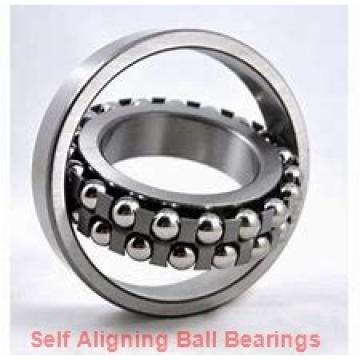 35 mm x 72 mm x 17 mm  FBJ 1207 self aligning ball bearings