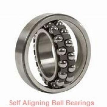30 mm x 72 mm x 19 mm  NKE 1306-K self aligning ball bearings