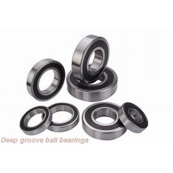 25 mm x 52 mm x 15 mm  ISO 6205-2RS deep groove ball bearings #3 image