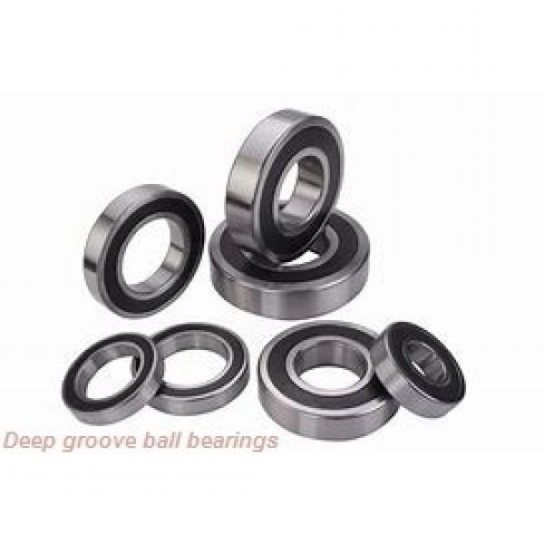 6,35 mm x 9,525 mm x 3,175 mm  ISO FR168BZZ deep groove ball bearings #1 image