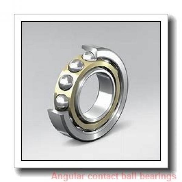 6 mm x 17 mm x 6 mm  SKF 706 CD/P4AH angular contact ball bearings #1 image
